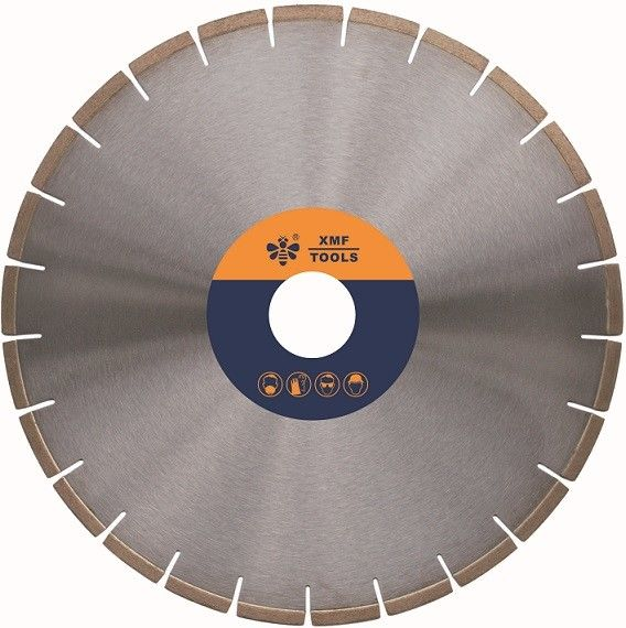 Silver Brazed 18  / 20 Inches  Diamond Circular Saw Blade Granite  50 / 60mm Arbor